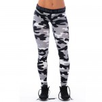 Nebbia Лосины Camo Leggins 203 White