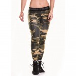 Nebbia Лосины Leggings Camo Combi 246 Green