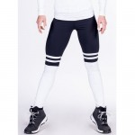 Nebbia Лосины Leggings Over the knee 286 Black/white
