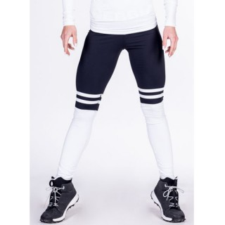Лосины Leggings Over the knee 286 Black/white