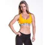 Nebbia Топ Mini Top Supplex 207 Yellow