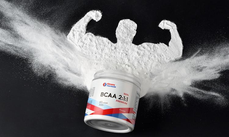 Источник БЦАА в продуктах притания