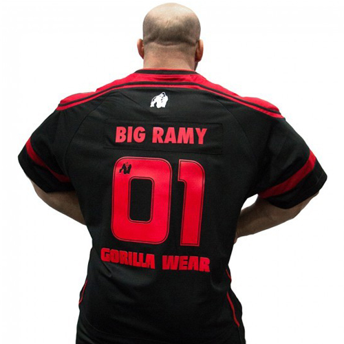 Футболка Athlete Big Ramy Black/Red