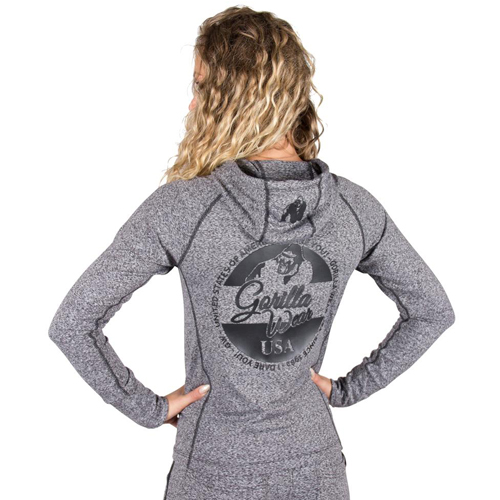 Толстовка Shawnee Zipped Hoodie Mixed Gray