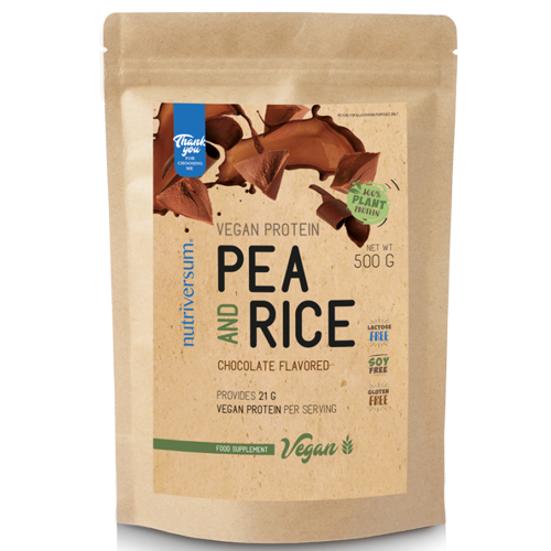 Vegan Protein Pea and Rice