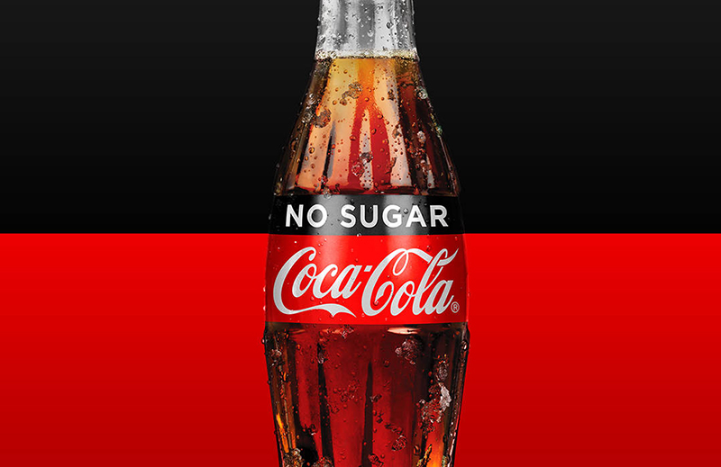 Coca Cola Zero в бутылке