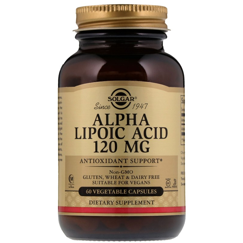 Alpha Lipolic Acid 120 mg