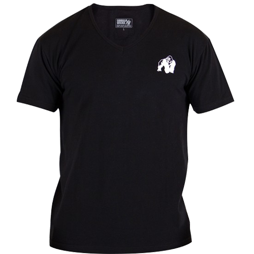 Футболка Essential V-Neck Black