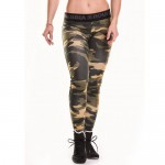 Nebbia Лосины Camo Leggins 203 Green